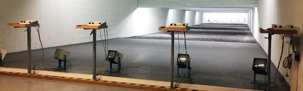 elektronische 50-Meter KK-Anlage
